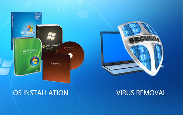 Software & Anti-Virus Services
